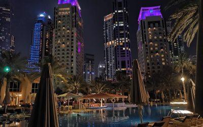 Sunday Evening at the Habtoor Grand Resort Dubai Marina