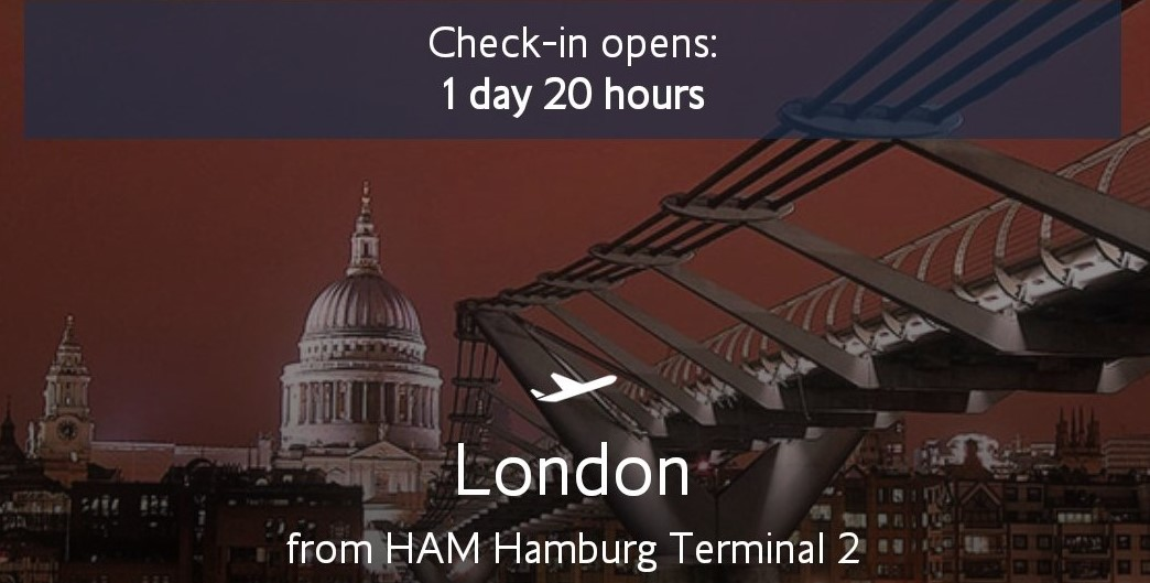 London's calling…