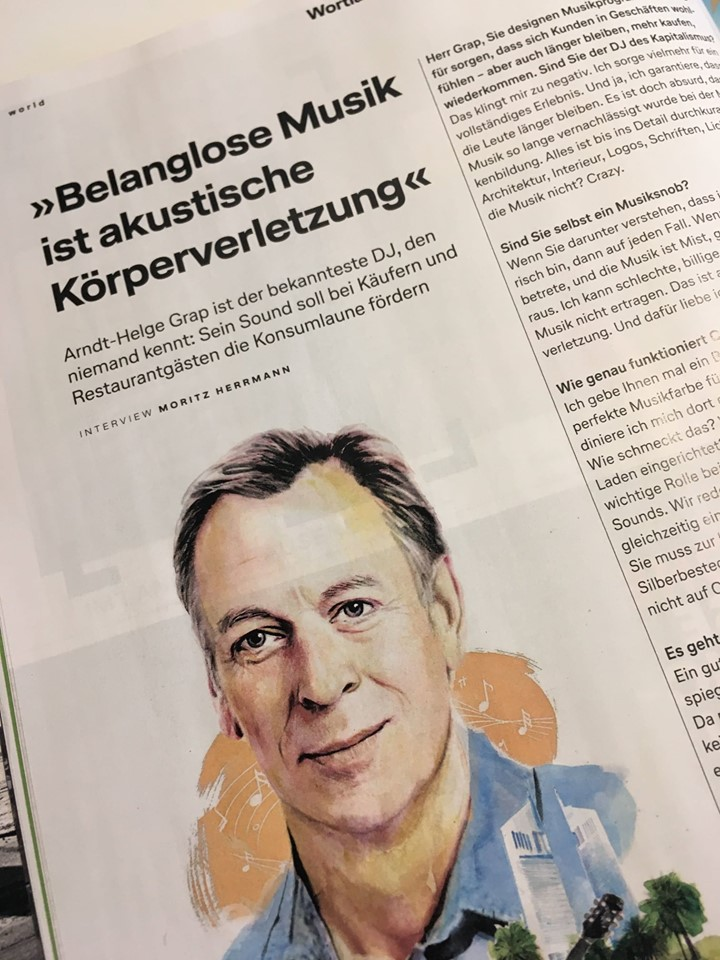 To all Lufthansa frequent flyers: Our General Manager Arndt-Helge Grap has been interviewed for Lufthansa Exclusive! Don't miss it.