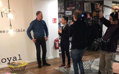 RTL Nord filming Radiopark & Novum Hospitality: Behind the scenes