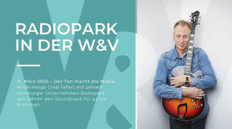 Radiopark featured in W&V