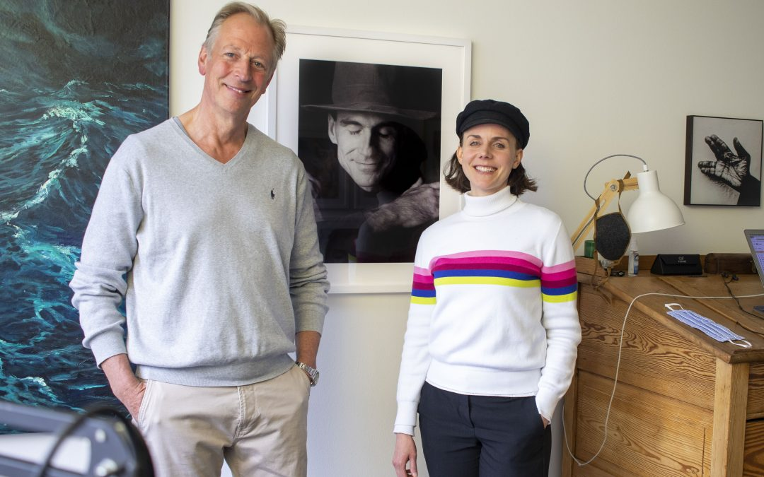 Anna Depenbusch visiting Songbird