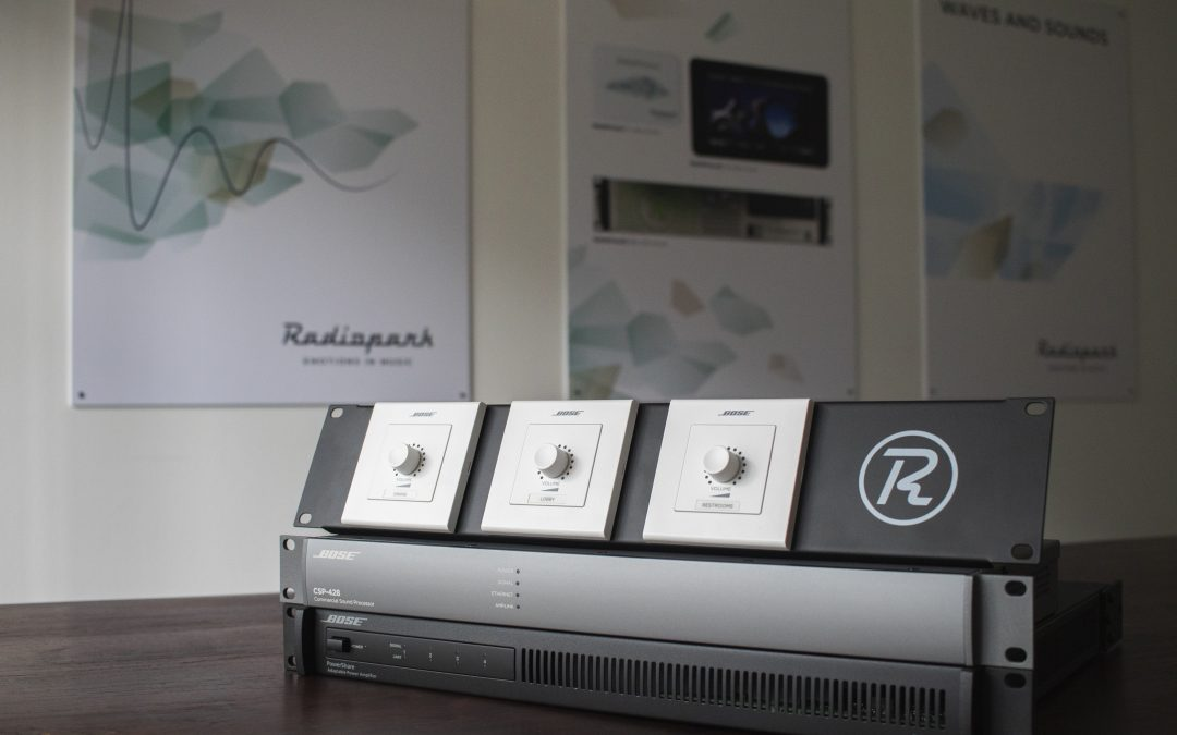 Tailor-made audio installation with BOSE