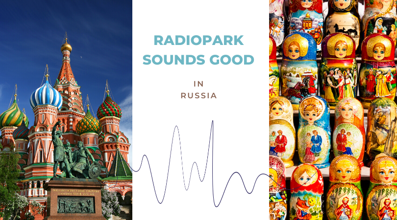 Radiopark sounds good in #5: Russia