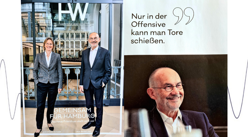 Prof. Norbert Aust elected as president of the chamber of commerce, Hamburg!