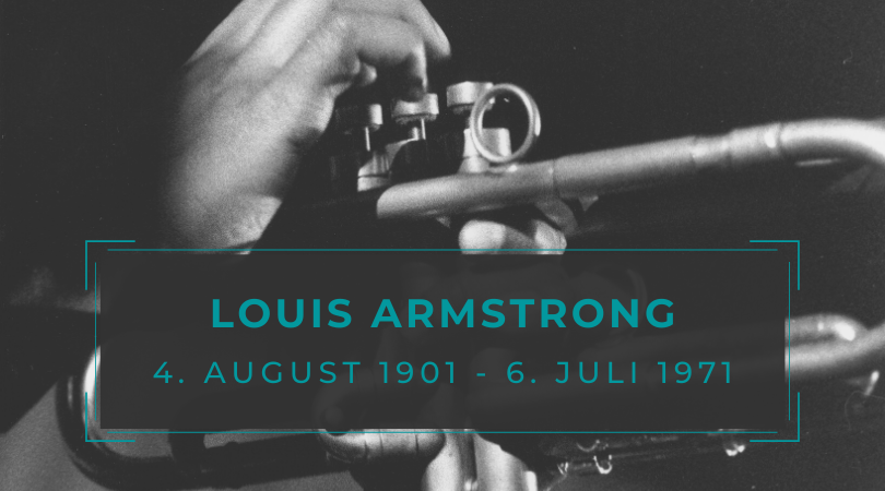 1971: In memory of Louis Armstrong