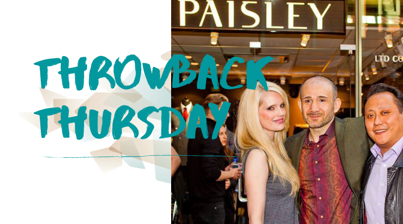 TBT: Fashion event by Paisley