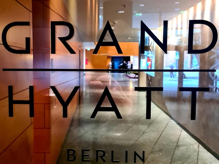 Good morning from Grand Hyatt Berlin