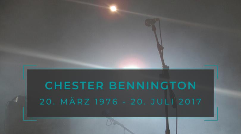 2017: In memory of Chester Bennington
